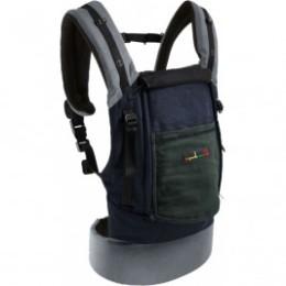 Pack PhysioCarrier JPMBB Coton éléphant bleu poche gris vert