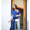 Echarpe de portage Bobawrap Bambou bleu