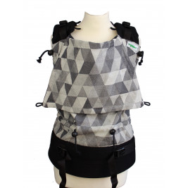 Buzzidil Versatile XL Triangle Monochrome Exclusive coton GOTS
