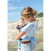 Echarpe de portage Hin-Yari Lucky bleu ciel