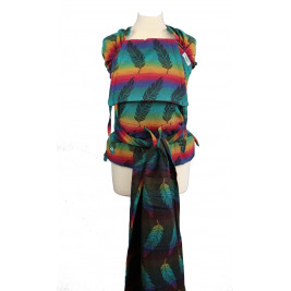 Meï-taï Buzzidil Wrapidil Rainbow Feathers