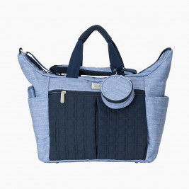 Diaper bag Ergobaby Walk in the Park Blue Vintage