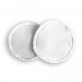 Nursing pads washable bamboo Naturiou white