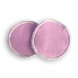 Nursing pads washable bamboo Naturiou pink