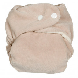 Layer in a classic Sw Bamboo with insert P'tits Dessous Pebble/ White