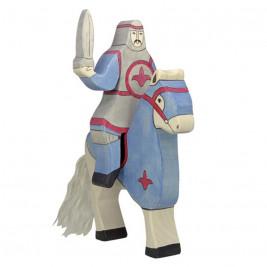 Chevalier bleu à cheval Holztiger