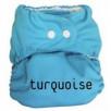 Couche lavable P'tits Dessous So Easy Turquoise sans insert