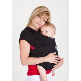Boba Wrap Noire - Écharpe de Portage Extensible