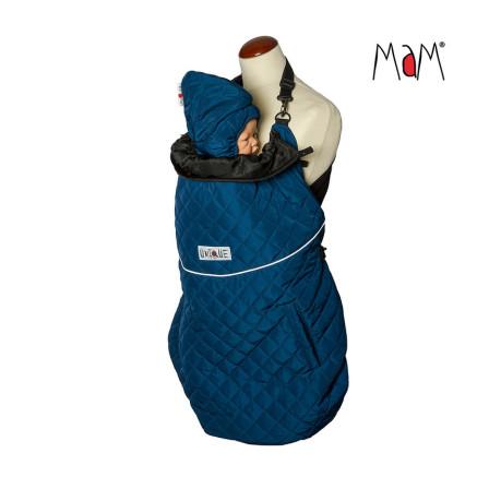 Couverture de portage MaM Exclusive Flex Cover Winter Quilt Poseidon
