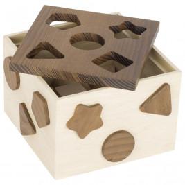 Goki Nature Boîte à Formes - Jouet en bois