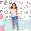 Door-Doll Ergobaby Hello Kitty Pink Playtime