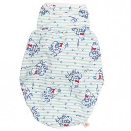 Couverture d' Emmaillotage Hello Kitty Bleu Sail Away