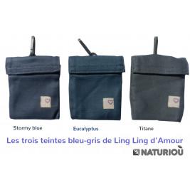 Ling Ling d'Amour P4 Preschool Titane - Porte-bébé