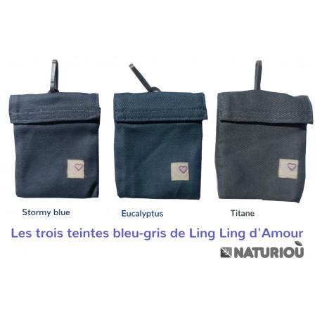 Porte-bébé P4 Ling Ling d'Amour Stormy Blue
