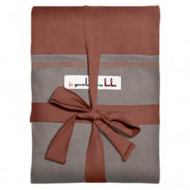 Wrap JPMBB Red Redwood Pocket Light Grey I wear My Baby