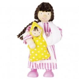 Flexible puppet, female tourist