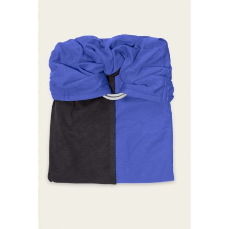 JPMBB Little no-tie Wrap Charcoal - Iris