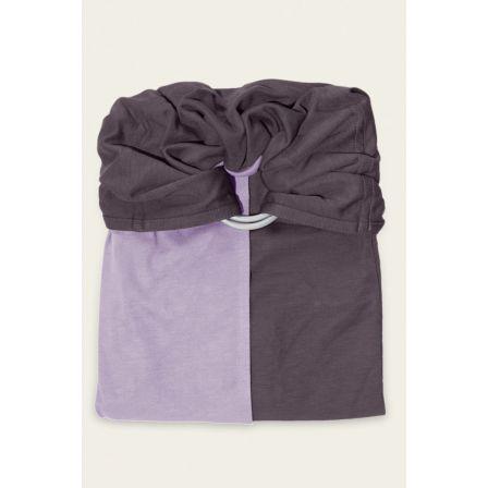 JPMBB Little no-tie Wrap Lavander - Glazed Brown
