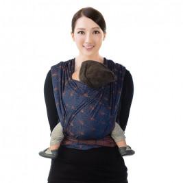 BB-Slen Babylonia Ornate blue écharpe de portage tissée
