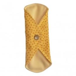 Serviette Hygiénique Lavable Jour Toudoo Natura Plumetis jaune
