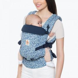 Ergobaby Adapt Indigo Batik - Porte-bébé Évolutif
