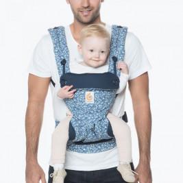 Baby carrier Ergobaby 360 Indigo Batik