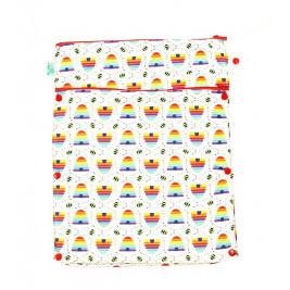 Storage bag cloth diapers Totsbots Bee Kind