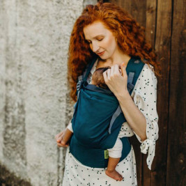 Boba X Grey baby carrier physiological