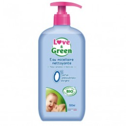 Love and green gel body and hair hypoallergenic