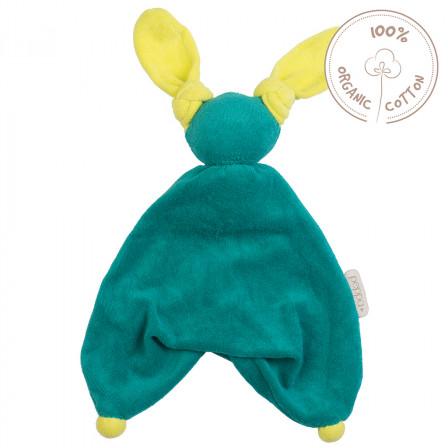 Peppa Floppy Babylonia Blanket Organic Cotton vert citron vert