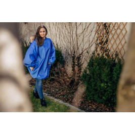 Babywearing Raincoat Lennylamb - Blue