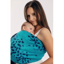 Lennylamb FINESSE - TURQUOISE CHARM sling baby