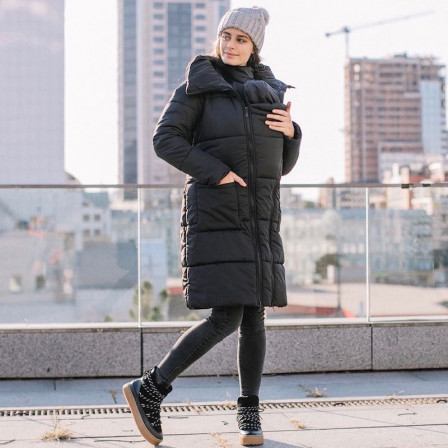 Love And Carry Manteau De Portage 3 en 1 Noir