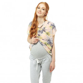 Love And Carry Jogging Pants Pregnancy Gray