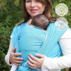 Néobulle baby carrier Denim Blue organic cotton