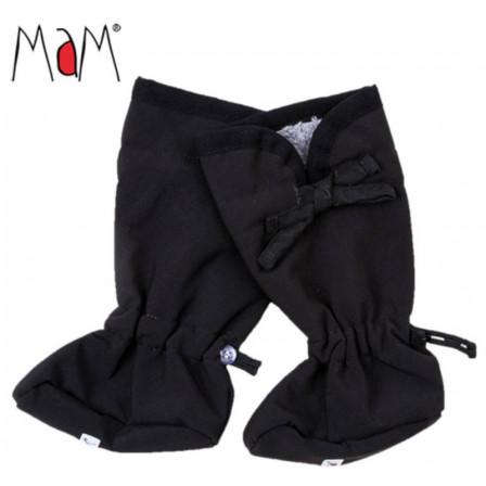 Manymonths chaussons de portage Booties Softshell Black/ Rock Grey