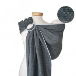 Storchenwiege RingSling Leo Gris