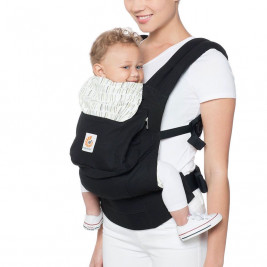 Ergobaby Original Black Stripes Downtown - baby carrier