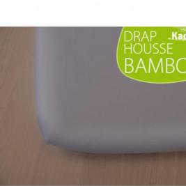 Kadolis fitted sheet Bamboo dark Grey 60 x 120 cm