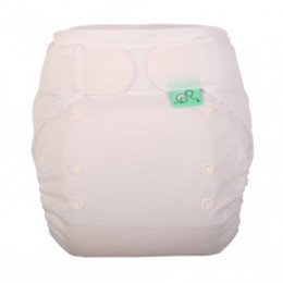 Totsbots TE1 EasyFit Star Totsbots blanc couche lavable