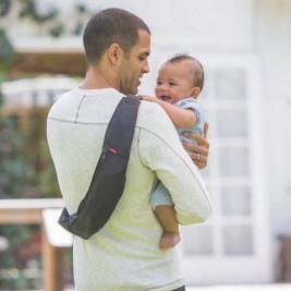 Infantino Zip Travel - Porte-bébé banane