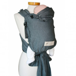 Storchenwiege BabyCarrier SLIM Graphite