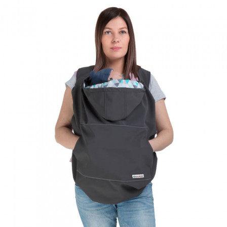 Naturiou coverage of portage Softshell Graphite 3-in-1
