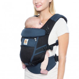 Ergobaby Adapt Cool Air-Mesh Blue-Black - baby carriers-Scalable