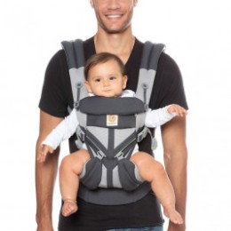 Ergobaby Omni 360 Cool Air Mesh Charcoal Grey - baby carrier Expandable 4 Positions