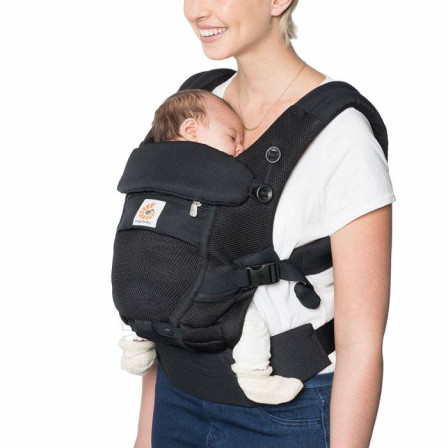 Ergobaby Adapt Cool air Mesh Noir Onyx - Porte-bébé Évolutif
