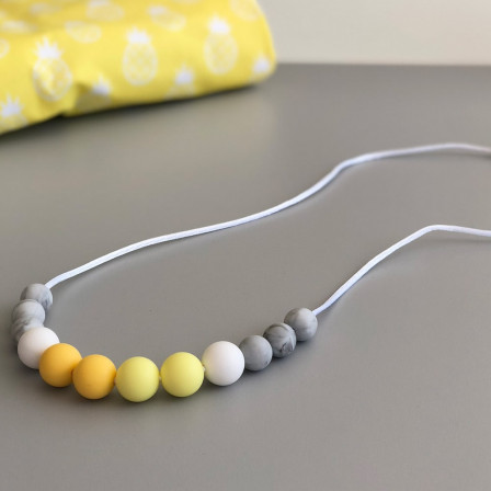 Love And Carry Sun Collier de portage en silicone alimentaire