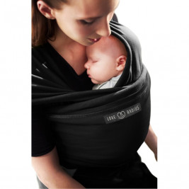 The original JPMBB Baby Wrap Black, pocket Black