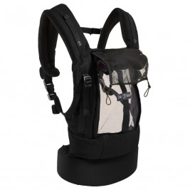 Love Radius (JPMBB) PhysioCarrier Coton Noir Poche Anthracite