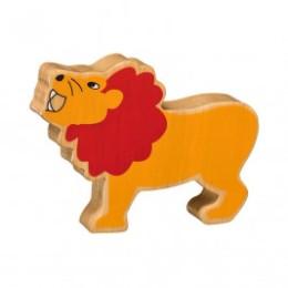Lion en bois Lanka Kade